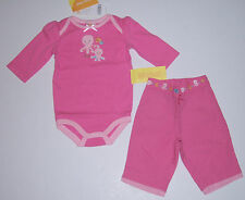 NWT Gymboree Under the Sea 0-3 Months Pink Octopus Pants & Bodysuit