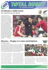IRB TOTAL RUGBY Issue 10 MAG MEXICO ASIA PACIFIC TOURNAMENT SIX NATIONS 2005