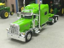 "1/64 DCP LIME GREEN 389 PETERBILT W/ 70"" SLEEPER"