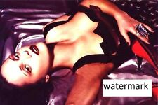 "Christina Ricci 4""x6"" busty black dress glamour picture 4""x6"" photo portrait u"
