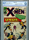 Uncanny X-Men #8 Silver Age Marvel Comics CBCS Certified and Graded 4.5