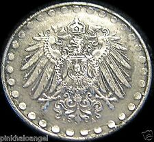 Germany - German Empire - German 1917A 10 Pfennig Coin - WW 1 Coin