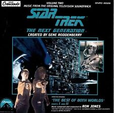 Star Trek: The Next Generation, Vol. 2 - The Best of Both World Parts 1 & II CD