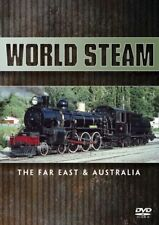 World Steam - Far East & Australia (New DVD) Railways Locomotives Trains Engines