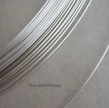 20 gauge half hard round sterling silver wire 5 feet