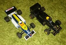 Scalextric Cannon Honda & Renault DeLonghi Elf F1 cars