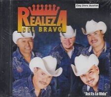 Realeza Del Bravo Asi Es La Vida CD New Nuevo sealed