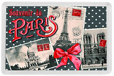 PARIS FRANCE FRIDGE MAGNET SOUVENIR MOD. 6 - PARIS FRANCIA IMAN NEVERA