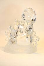 Crystal snow men figurine Christmas Decor