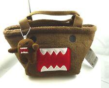 Domo-Kun Plush Small Hand Bag with one min domo kun