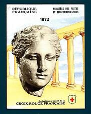 FRANCE - FRANCIA - Libretto - 1972 - Pro Croce Rossa. Quadri
