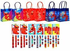 54 pc Sesame street Elmo reusable Party Favor Goodie Gift candy loot Bags 6 sets