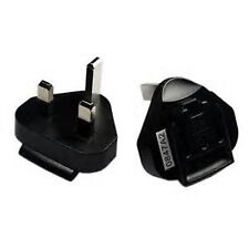 BlackBerry UK Adaptor Charger Plug Clip 3-prong (ASY-03746-001) NEW-Retail $9.99