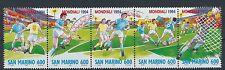 San Marino 1577/81 postfrisch / Fußball ........................................