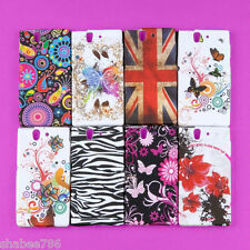 R1 Wholesale Lot 12 Pcs Back Skin Colorful TPU Cover Sony Xperia Z L36h C6603