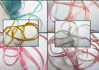 5 Metres Of Double Sided Satin Ribbon 7 mm For £1.25...6 Colours Free UK Post