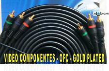 CABLE VIDEO COMPONENTES 3 RCA a 3 RCA 10m. AVC-10