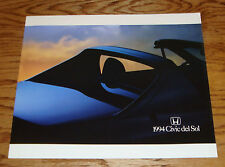 Original 1994 Honda Civic del Sol Deluxe Sales Brochure 94