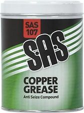SAS COPPER GREASE ANTI SEIZE COMPOUND SAS107 1 x 500G TIN