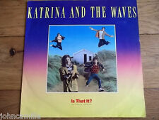 "KATRINA AND THE WAVES - IS THAT IT? 12"" RECORD/VINYL - CAPITOL RECORDS - 12CL398"