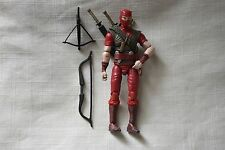 "2008 Hasbro GI Joe 3 3/4"" 1/18 scale Cobra Red Ninja Leader w/Accessories SJ-782"