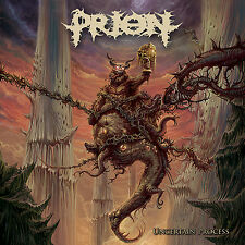 "PRION ""Uncertain Process"" death metal CD & DVD"