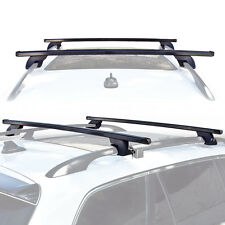 Wagon SUV Universal Roof Rack Cross Bar Rail Pair Car Luggage Rooftop Horizontal
