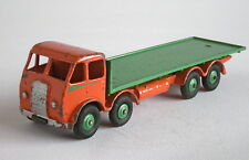 DINKY SUPERTOYS 502 FODEN FLAT TRUCK  Orange/Green - Slightly Chipped / SC