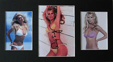 CLAUDIA SCHIFFER Signed 15x8 Photo SUPER MODEL COA