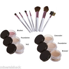 Mineralshack natural mineral makeup powder  Medium Beige Matte 13 piece set