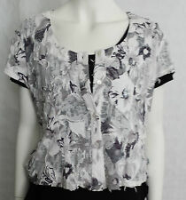 "Dutch Collection, Art, Grey ""Harvest Top"" KK35-N6B MED UK 8"