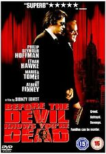 Before The Devil Knows You are Dead DVD Philip Seymour New and Sealed UK R2