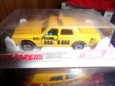 MAJORETTE MADE IN FRANCE SERIE 200 TAXI IMPALA NEUF SS BLISTER