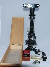 Leica MIFILMCA 1/3x Microscope Camera outfit with microscope Leitz Black RARE