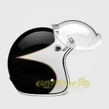 Visiera BUBBLE FLIP-UP trasparente tipo biltwell bandit bolla cafe racer 101730