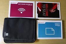 SEAT Alhambra Manual 2.0 Audio Owners Manual Cartera 2010-2015 Pack