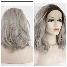 Anime Hair Full Long Wave Synthetic Natural Wig Cosplay Costume OMBRE Wigs+ gift