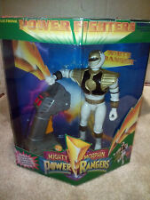 Electronic White ranger - Mighty Morphin Power Rangers - power fighter - Bandai
