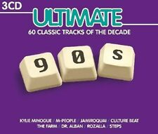 ULTIMATE 90s 3 CD NUOVO Rozalla/Robyn/Leftfield/Robert Miles/Faithless
