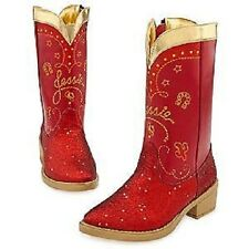 JESSIE~Red~COSTUME~BOOTS~Girls Youth 2/3~Toy Story 3~NWT~Disney Store~2010