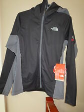 Mens New North Face Summit Series Alpine Project Hybrid Hoodie Jacket S Black