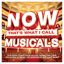 Various Performers Now That's What I Call Musicals CD NEW