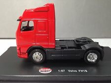 HO 1/87 Model Power # 20400 Volvo FH16 Single Axle Day Cab Tractor Red