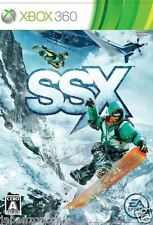 Used Xbox 360 SSX  MICROSOFT JAPAN JAPANESE JAPONAIS IMPORT