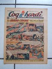 COQ  HARDI    n° 159   du  7  AVRIL   1949  : le grand cirque clostermann