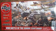 AIRFIX 1/72 WWI Battle of the Somme 3 Kits, figures, diorama base, paints *NEW*