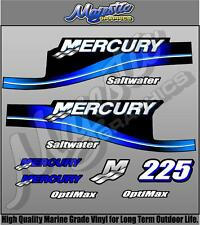 MERCURY 225hp SALTWATER - DECAL KIT - OUTBOARD DECALS