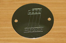 Harley Davidson #1 Timer Points Plate Cover Chrome Shovelhead & Evo New (31)