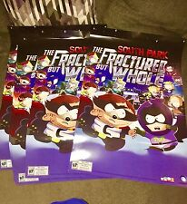 South Park: The Fractured but Whole- Double Sided Promo Poster- 24 x 36