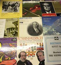 "10 x Classical Records–12"" LP Records 33rpm"